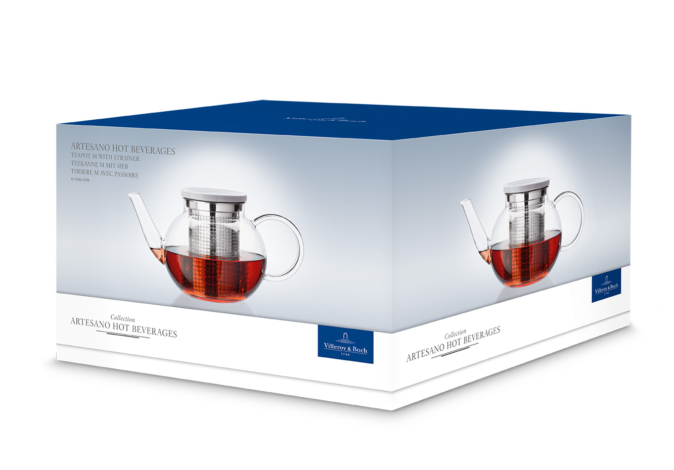 Villeroy & Boch | Artesano Hot Beverages | Small Teapot with Strainer