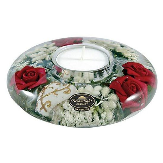 Dreamlight | Tealights | Red Rose UFO Mini