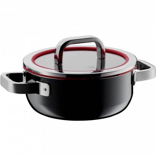 Wmf Fusiontec Functional Black Low Casserole 20cm